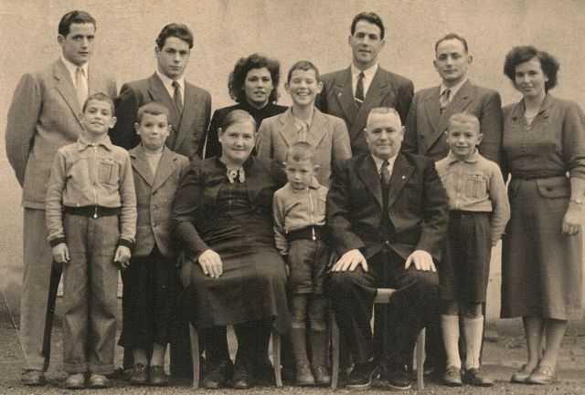 Familie ca. 1955